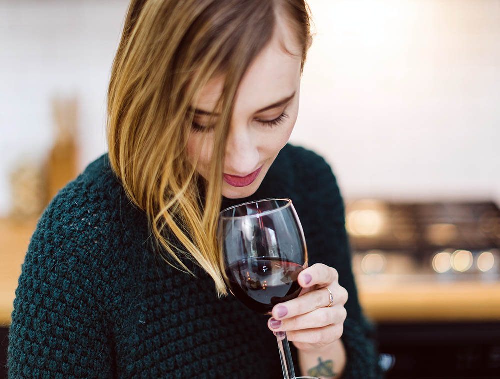 Bonny Doon wine tasting