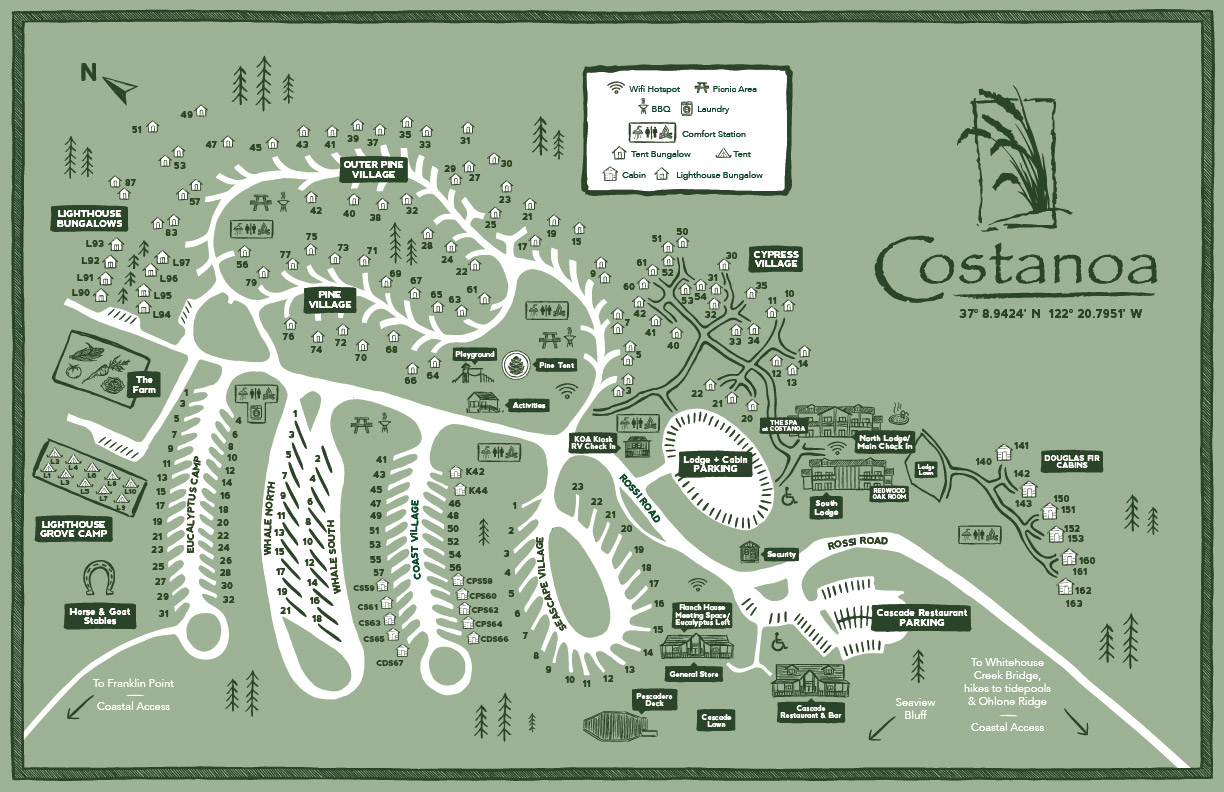 costanoa map